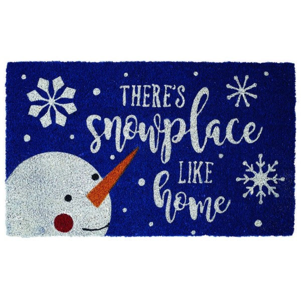 Doormat Snowplace Like Home