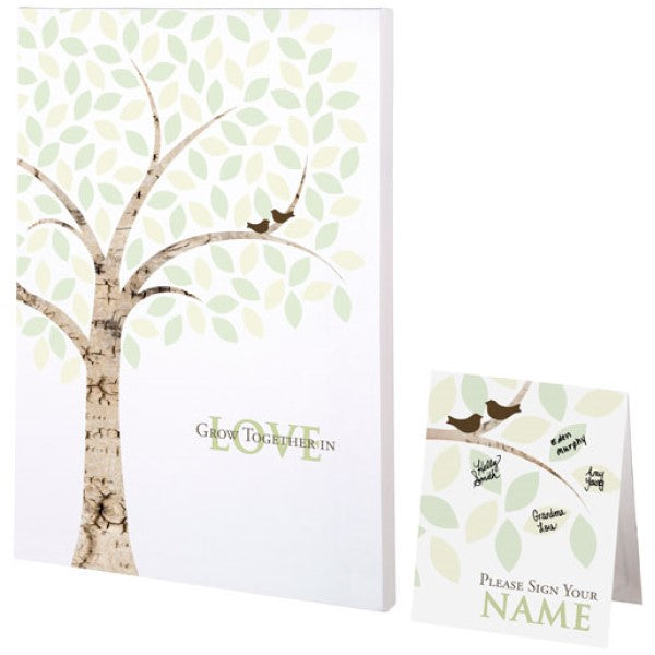 Signing Tree Canvas by Lillian Rose