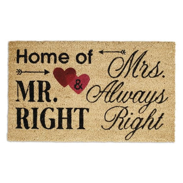 Doormat Mr & Mrs