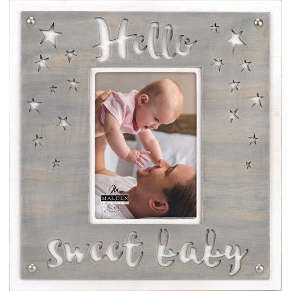 Frame Hello Sweet Baby