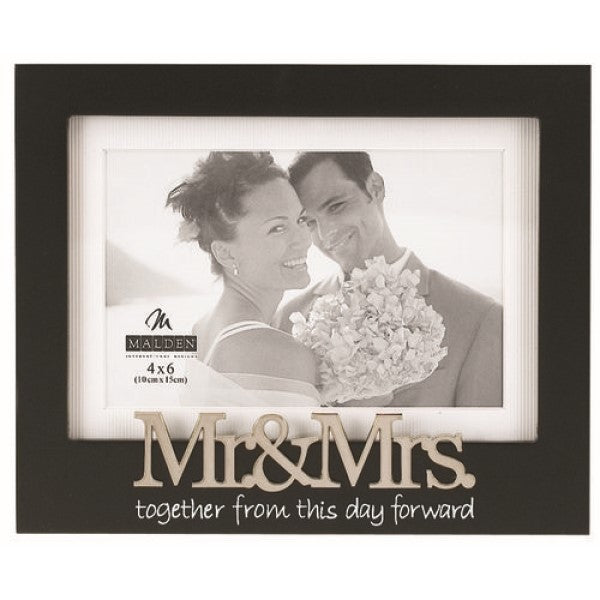 Frame Mr Mrs Black