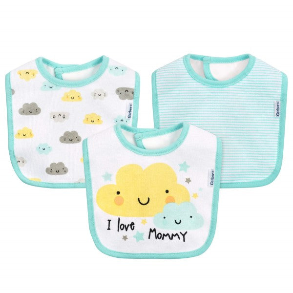 Bibs Cloud 3-Pack