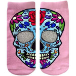Ankle Socks Sugar Skull
