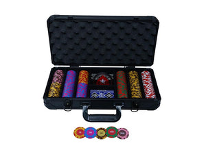 BELLAGIO Clay Poker Chip set (45mm) 300 and 500 Pieces - casino-kart