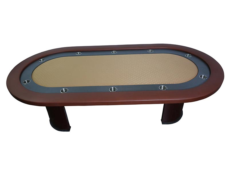 Gutshot Texas Holdem Poker Table with Speed (suited ) cloth - casino-kart