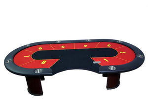 Poker/Flush (Teen Patti) Poker Table with water proof Felt - casino-kart