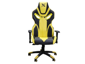 Arc Series Yellow Gaming Chair - casino-kart