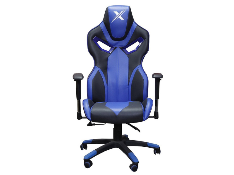 Arc Series Blue Gaming Chair - casino-kart