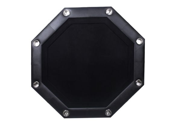Casinokart Raptor Series Octagonal Foldable Poker Table Black