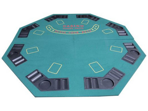 Poker Table Top -Folding - casino-kart