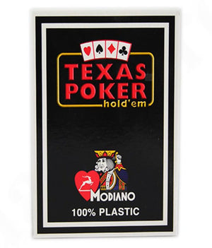 Modiano Texas Poker Pack of 126 - casino-kart