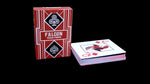 Falcon Texas Poker jumbo Index-Red - casino-kart