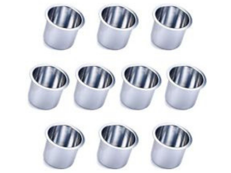 Brass Cup Holders Pack of 10