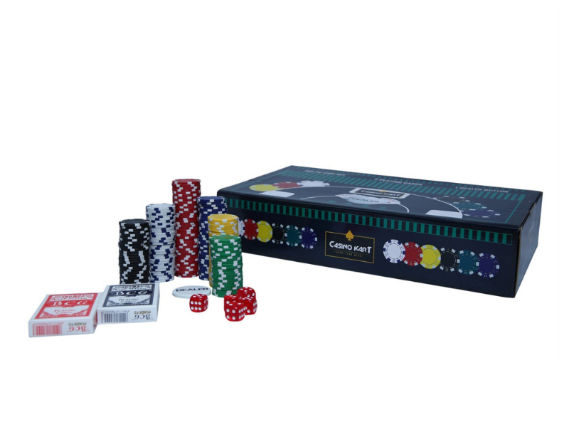 Poker Chipset 300pcs without denomination