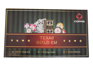 Copag Texas Holdem Poker Set Series - 300 Pieces - casino-kart
