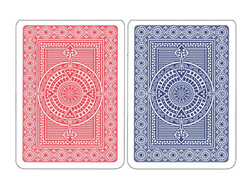 Modiano Platinum Blue | Red Pack of 50 - casino-kart
