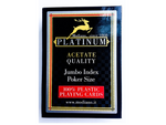 Modiano Platinum Blue | Red Pack of 50