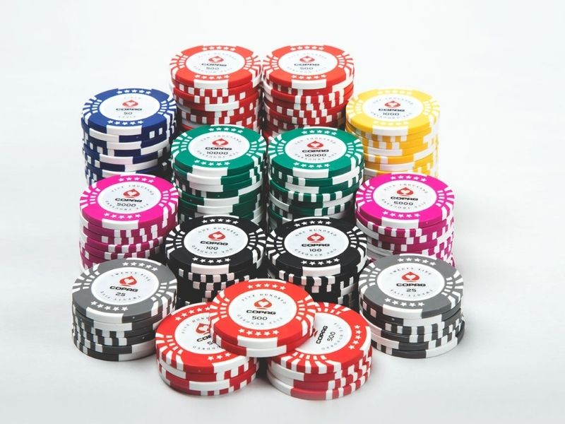 Copag Texas Holdem Poker Set Series - 500Pieces