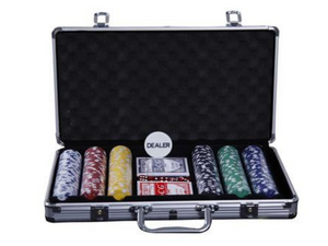 Poker Chipset 300pcs without denomination - casino-kart