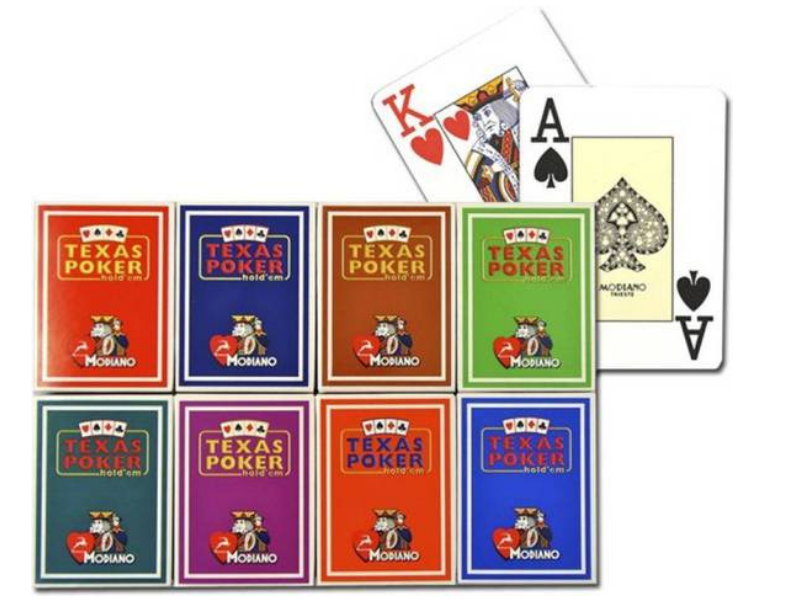 Modiano Texas Poker Pack of 126