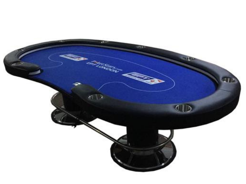 Led and Usb Charging Table - casino-kart