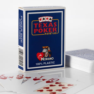 Modiano Texas Poker Pack of 4 - casino-kart