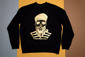Man hoodie - bearded Sailor - FoxbyFox