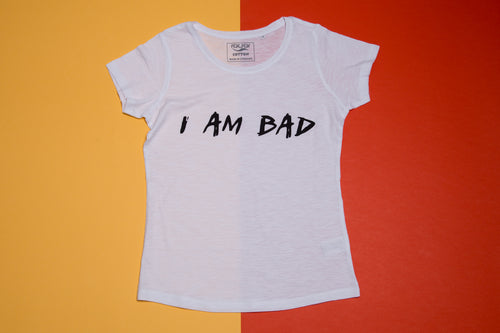 Short sleeve T-shirt - I am bad - FoxbyFox