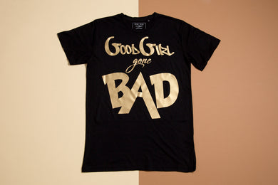 Short sleeve T-shirt - Good girl gone bad - FoxbyFox