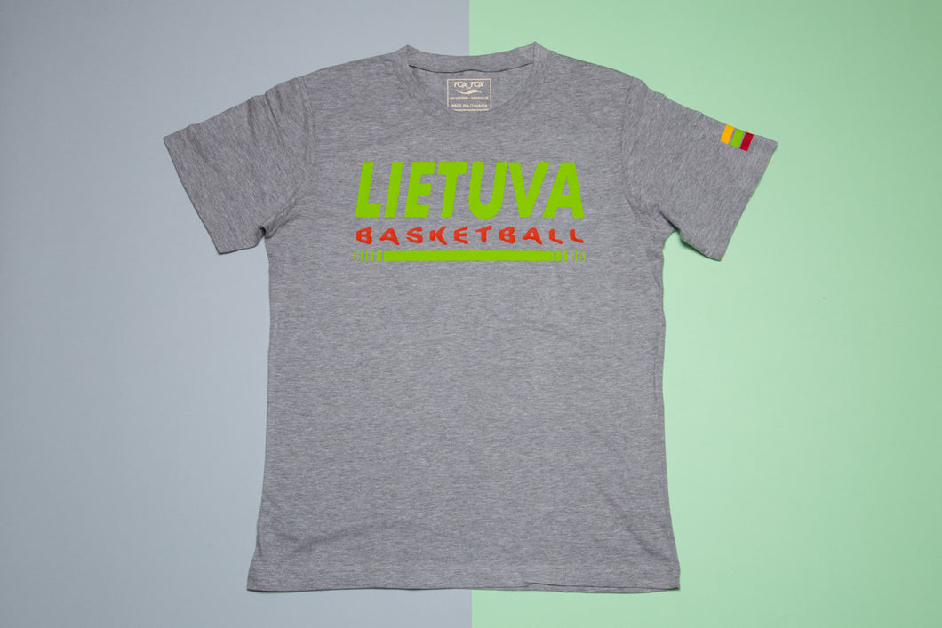 Short sleeve t-shirt - LIETUVA Basketball - FoxbyFox