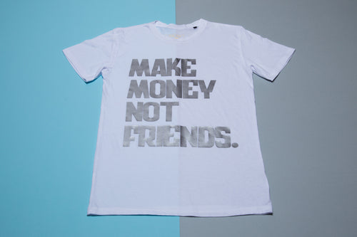 Short sleeve T-shirt - Make money not friends - FoxbyFox