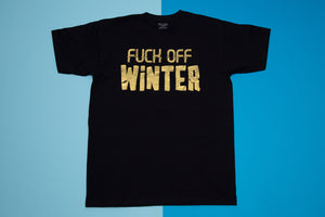 Short sleeve t-shirt - Fuck off winter