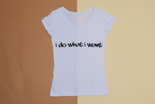 Short sleeve T-shirt - I do what I want
