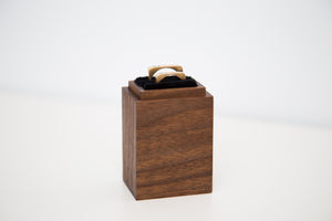 Wedding / engagement / proposal hardwood handmade ring box