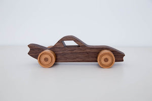 Handmade Hardwood Sports Car_vroom vroom - FoxbyFox