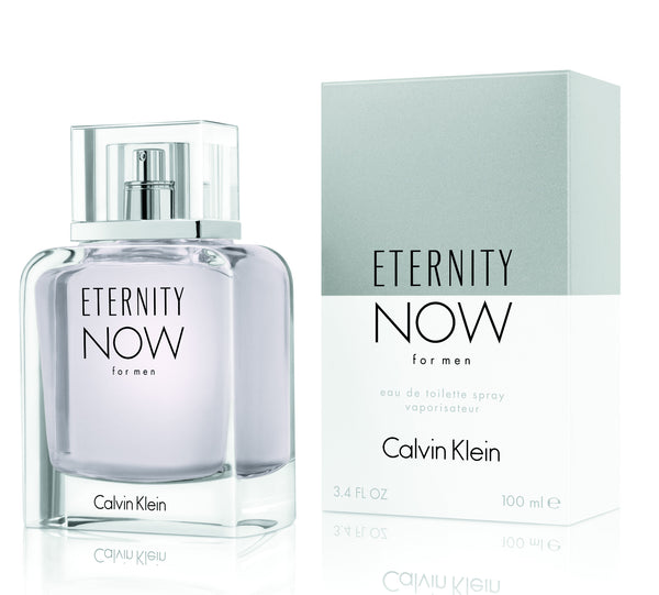 Perfume Calvin Klein Eternity Now para Hombre de 100 ml - 3.4 Oz