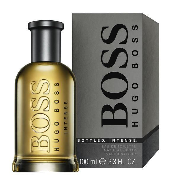 Perfume Hugo Boss Bottle Intense para Hombre de 100 ml - 3.4 Oz