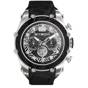 Reloj Btech para Unisex Multifuncion Casual Color Negro Supershop