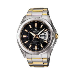 Supershop:Reloj Casio Edifice para Hombre Clasico Casual Color Silver/dorado