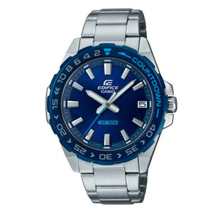 Supershop:Reloj Casio Edifice para Hombre Clasico Casual Color Silver