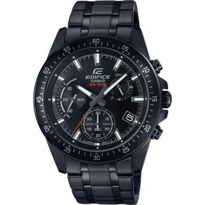 Supershop:Reloj Casio Edifice para Hombre Cronografo Casual Color Negro