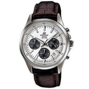 Supershop:Reloj Casio Edifice para Hombre Cronografo Casual Color Cafe