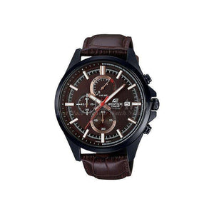 Reloj Casio Edifice para Hombre Cronografo Elegante Color Cafe Supershop