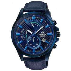 Reloj Casio Edifice para Hombre Cronografo Elegante Color Azul Supershop