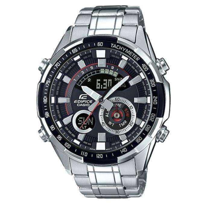 Reloj Casio ERA-600D-1AV para Hombre Pulso Acero Inoxidable Silver Digital Supershop