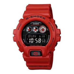 Supershop:Reloj Casio para Unisex Digital Casual Color Rojo