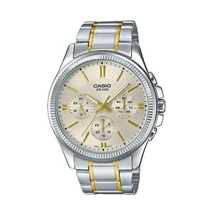 Supershop:Reloj Casio para Hombre Multifuncion Casual Color Silver