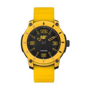 Supershop:Reloj Caterpillar para Hombre Clasico Casual Color Amarillo