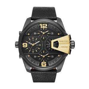 Supershop:Reloj Diesel para Hombre Multifuncion Casual Color Negro