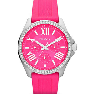Supershop:Reloj Fossil para Mujer Multifuncion Moda Color Rosa